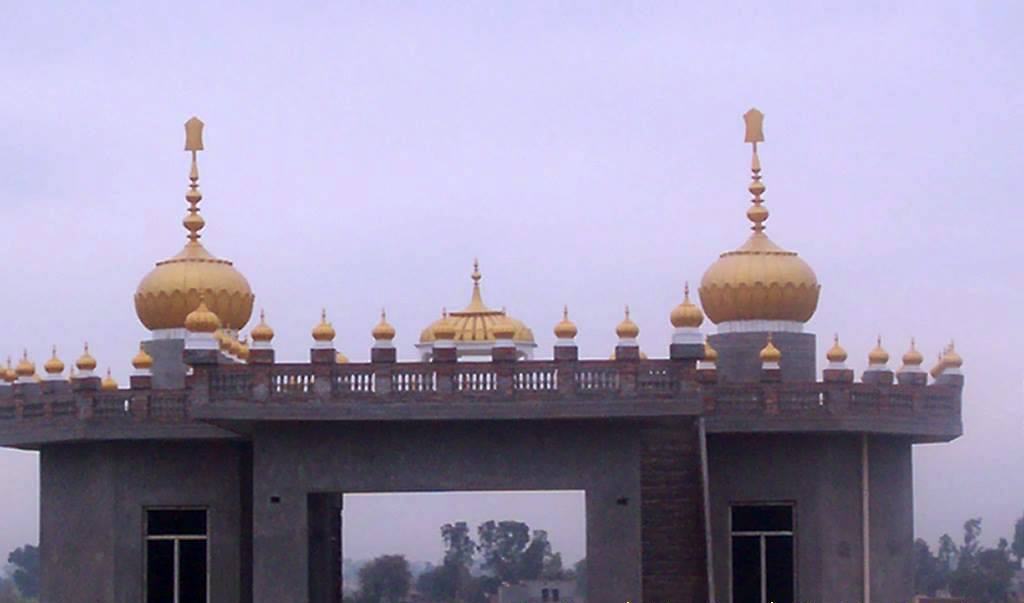 10ft Domes on Gurdwara Sahib