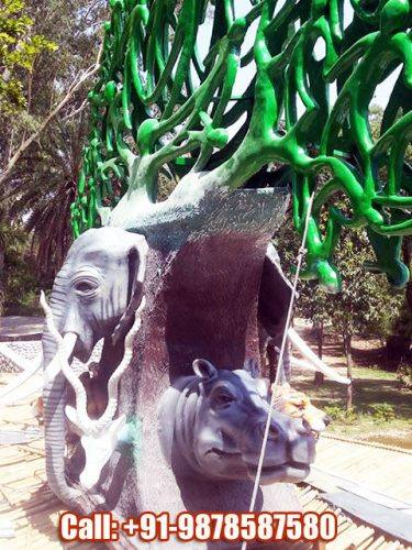 Chhatbir Zoo Sculpture for Entry Gate