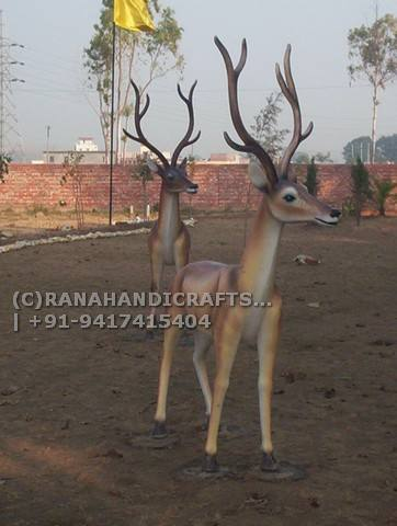 Deer-Sculptures