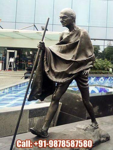 Gandhi Dandi March Sculpture