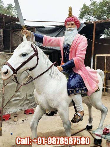 Jassa Singh Ahluwalia Sculpture
