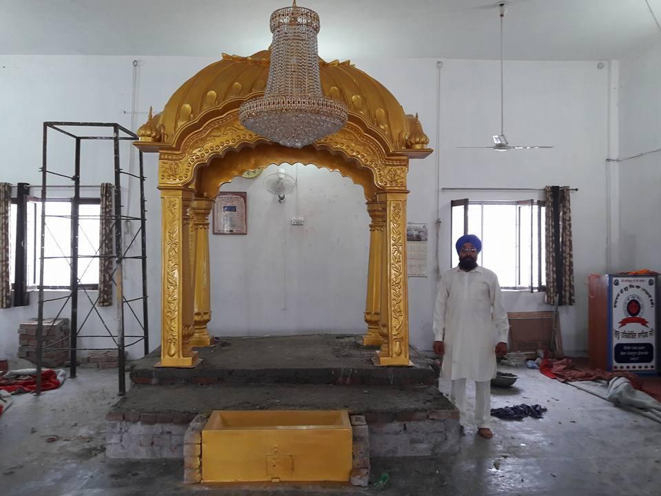 Fiberglass Sculptures Domes Gumbad Palki Sahib Nishan