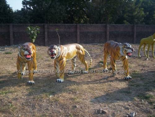 Tiger-Sculptures