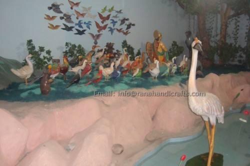 birds-sculptures