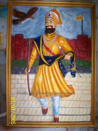 guru gobind singh mural