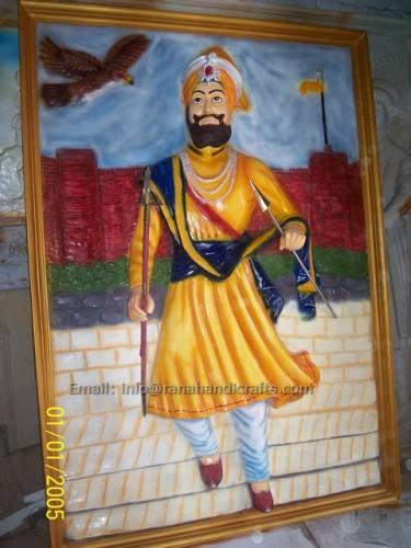 guru gobind singh ji mural