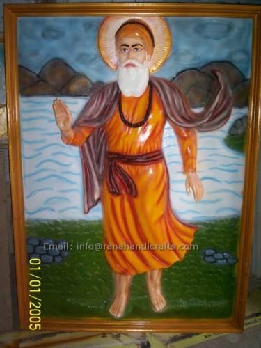 guru nanak dev ji mural