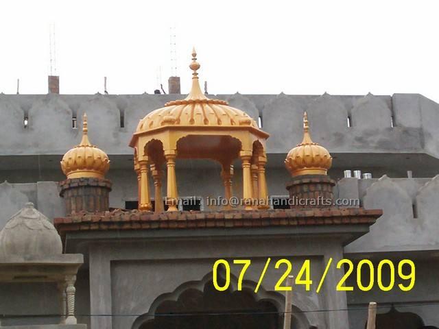 Palki Sahib at Gurdwara Jalandhar
