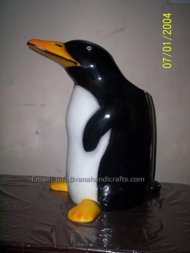 penguin-dustbin-fiberglass
