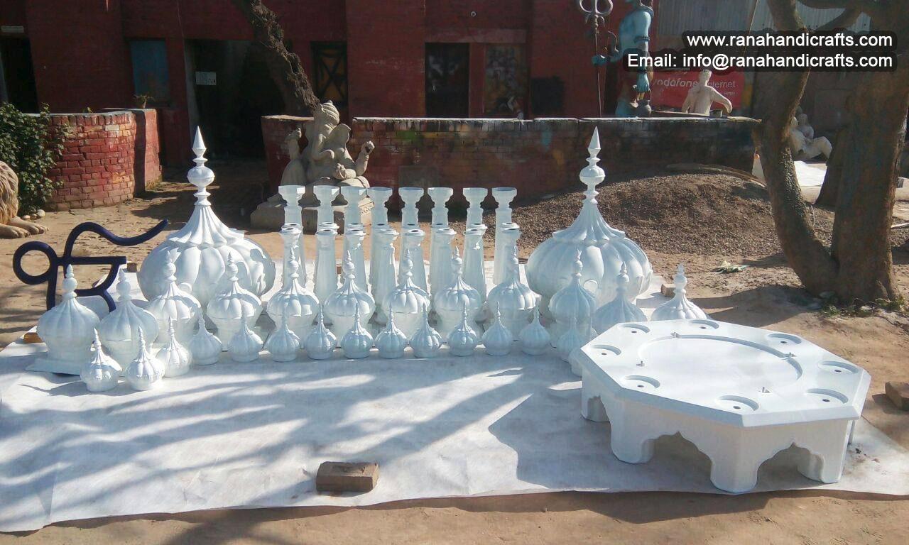 Front Gate Modular Palki Sahib for Gurdwara at United States