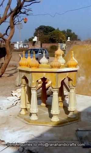 Making-of-Palki-Sahib-For-Front-Gate