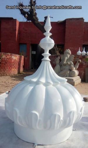White-Gurdwara-Dome