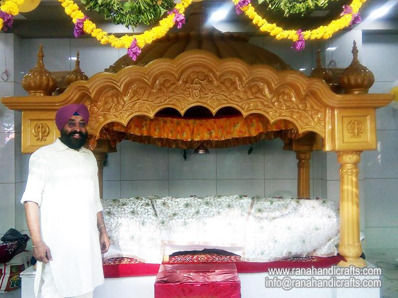 Palki Sahib Installed at Ahmadabad