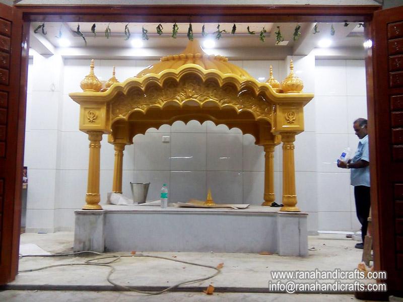Installing Palki Sahib at Ahmadabad