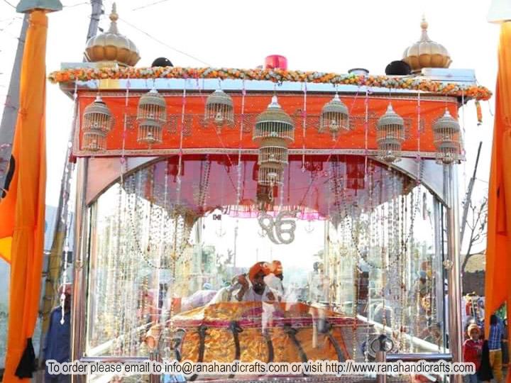 Mobile Nagar Kirtan Palki Sahib