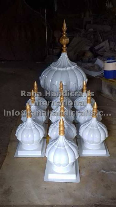 Domes Ready to be exported to Gurdwara Sahib in Malaysia