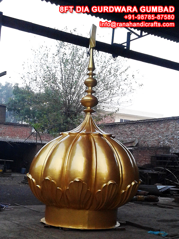 8ft Dia Gurdwara Dome (Gumbad)