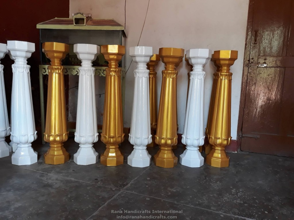 Pillars for Palki Sahib
