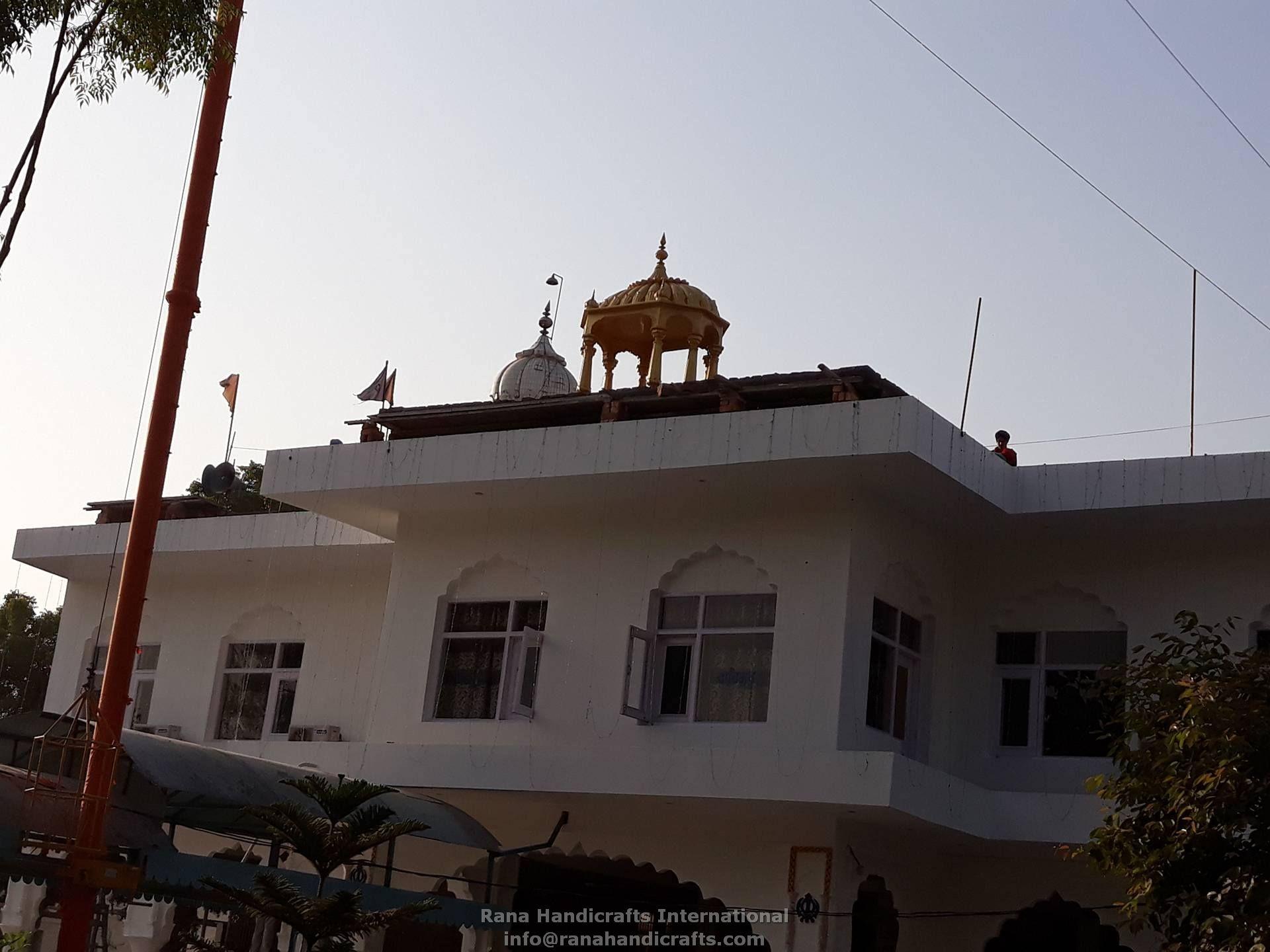 Palki Sahib at Gurdwara Mohali