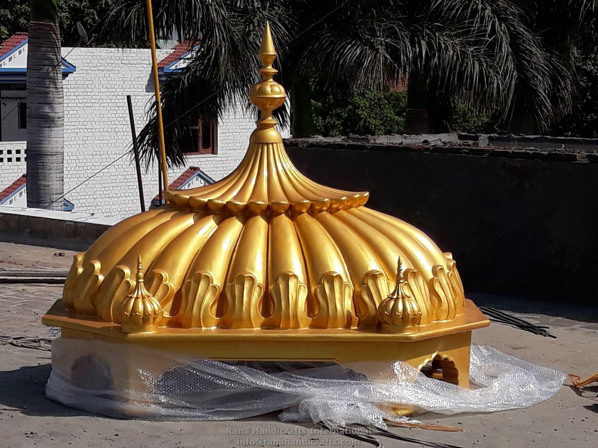 Palki Sahib Fine Golden Finish