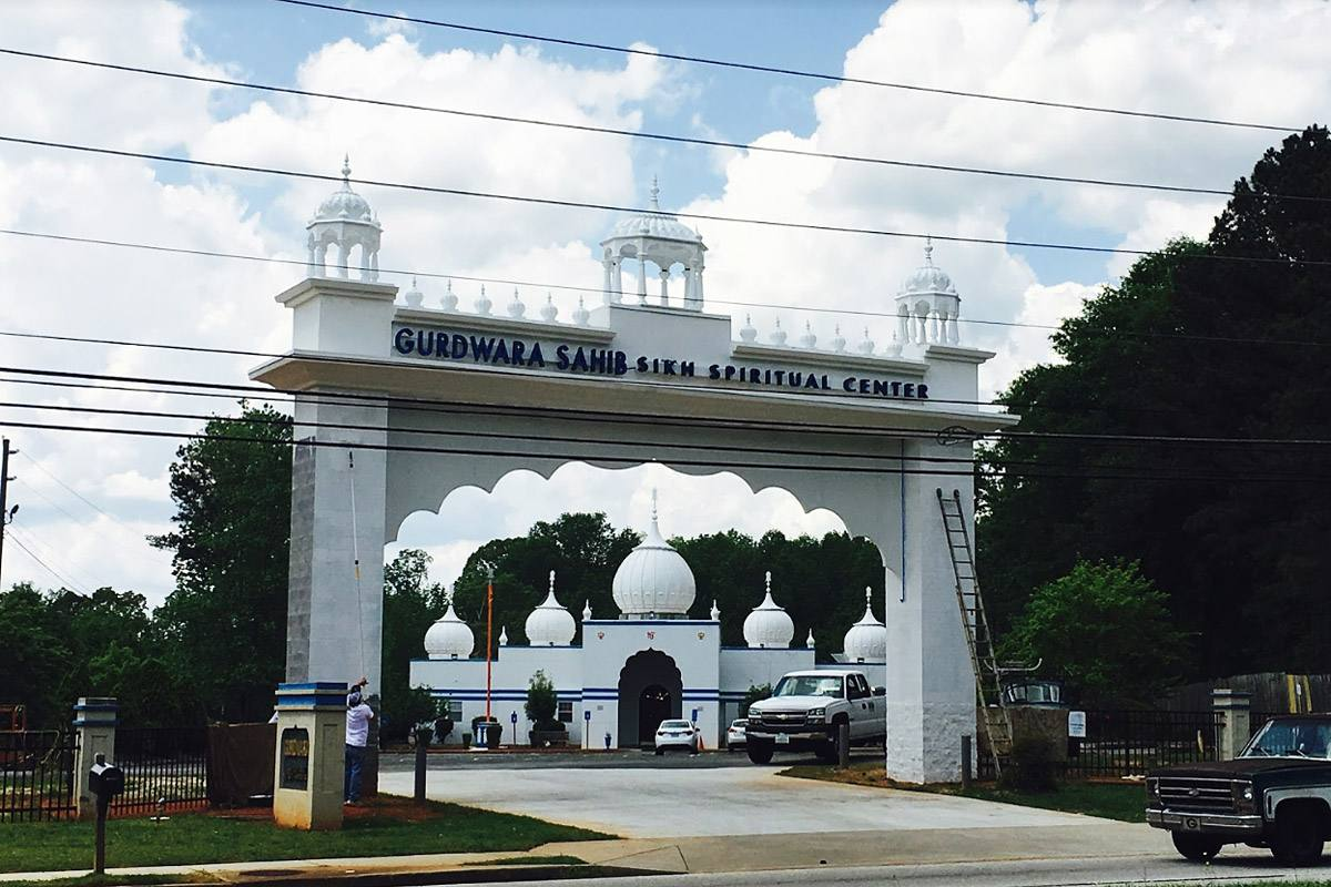 Gurdwara Domes in USA