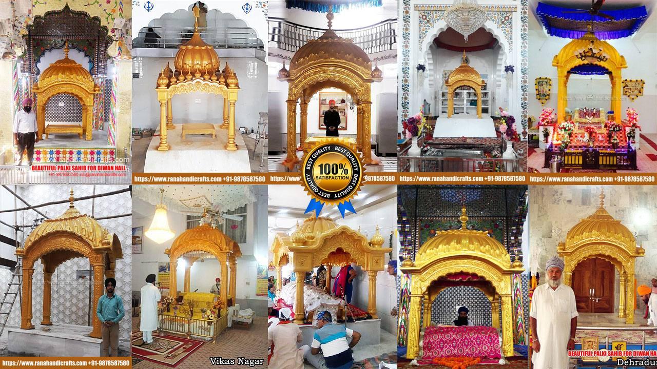 Palk Sahib Designs at Various Gurdwara Sahib