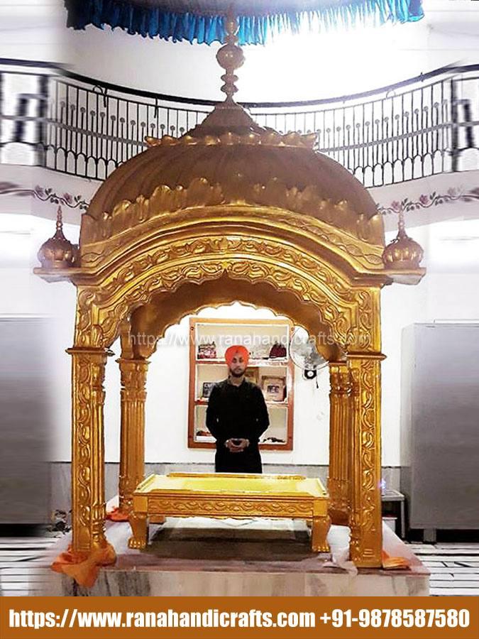Palki Sahib Installed in Delhi