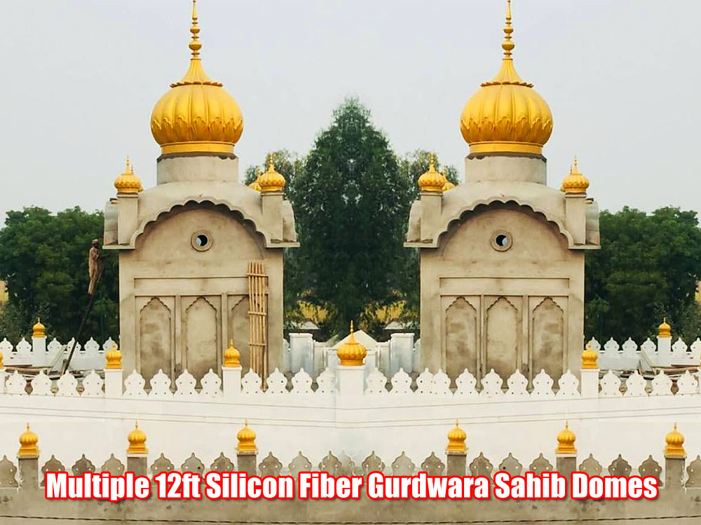 Multiple 12feet Gurdwara Sahib Domes