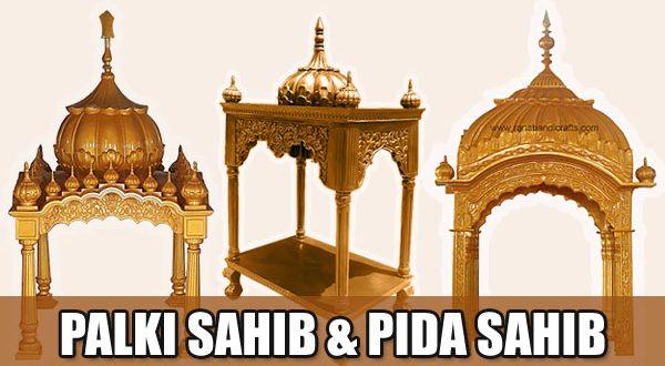 Palki Sahib and Pida Sahib