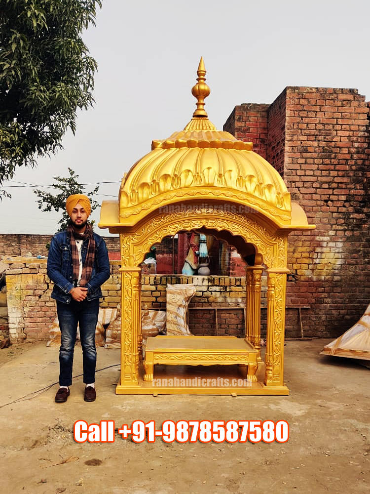 Uday Veer Singh Rana with Palki Sahib