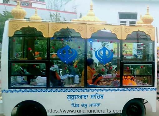 NEW Palki Sahib for Nagar Kirtan Bus
