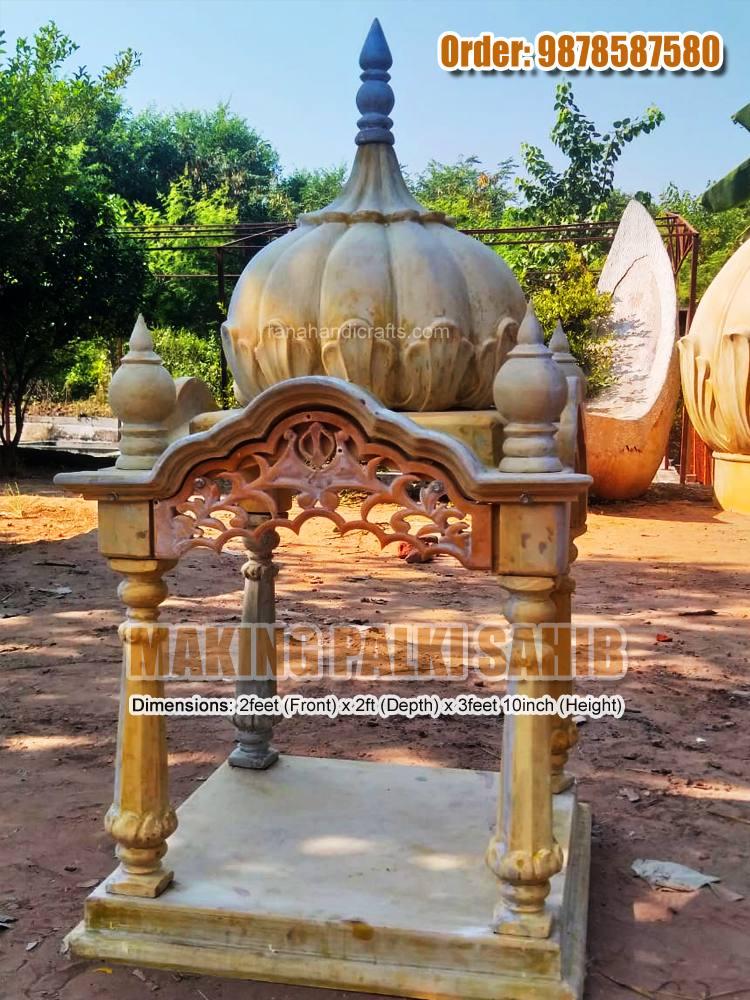 Making New Palki Sahib Design for Home: HM02