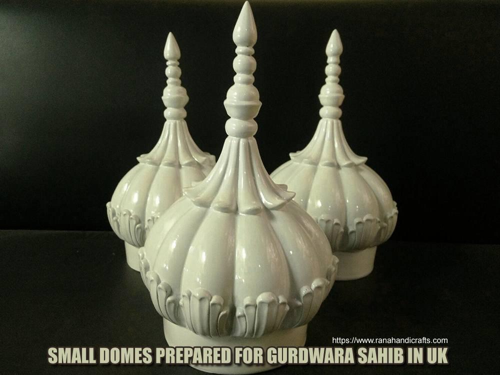 Small Gurdwara Domes