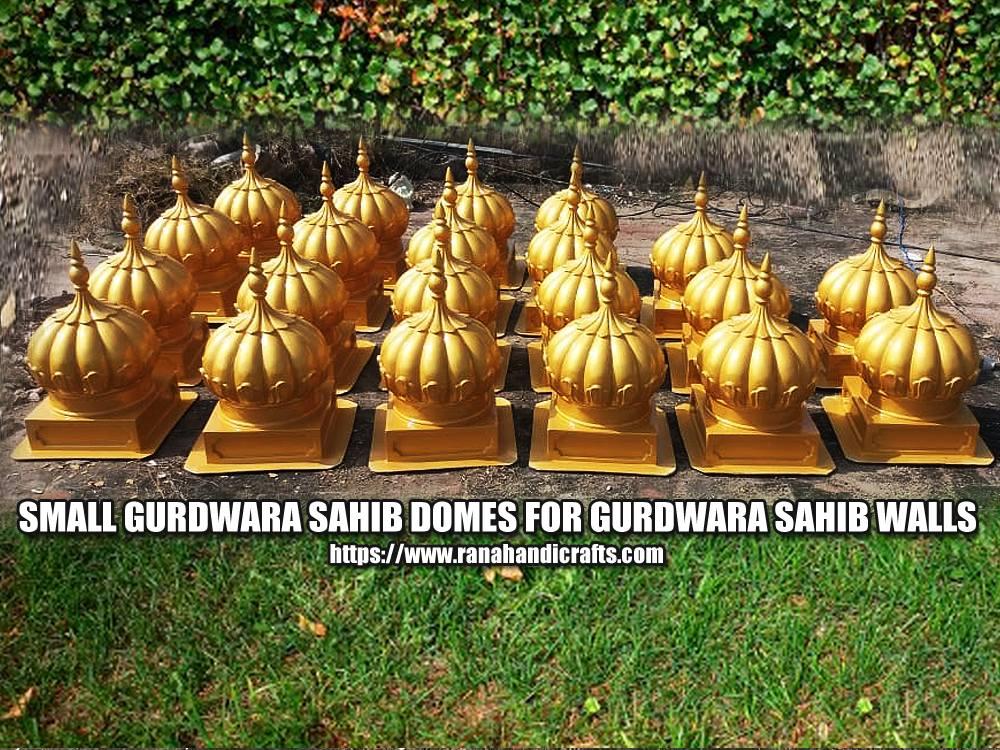 Small Gurdwara Sahib Domes for Gurdwara Sahib Walls