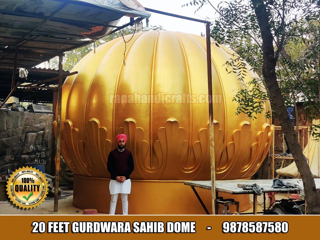 20 Feet Gurdwara Dome