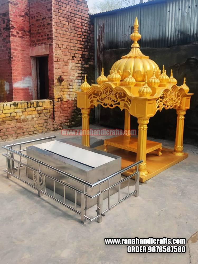 New Design Palki Sahib for Guru Granth Sahib - PK6